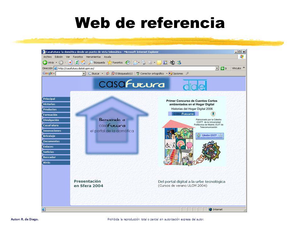 Autor: R. de Diego. Prohibida la reproducción total o parcial sin autorización expresa del autor. Web de referencia