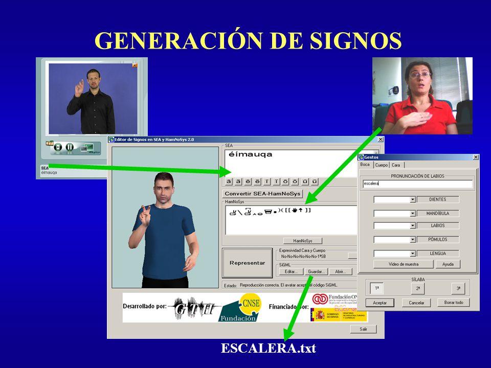 GENERACIÓN DE SIGNOS ESCALERA.txt