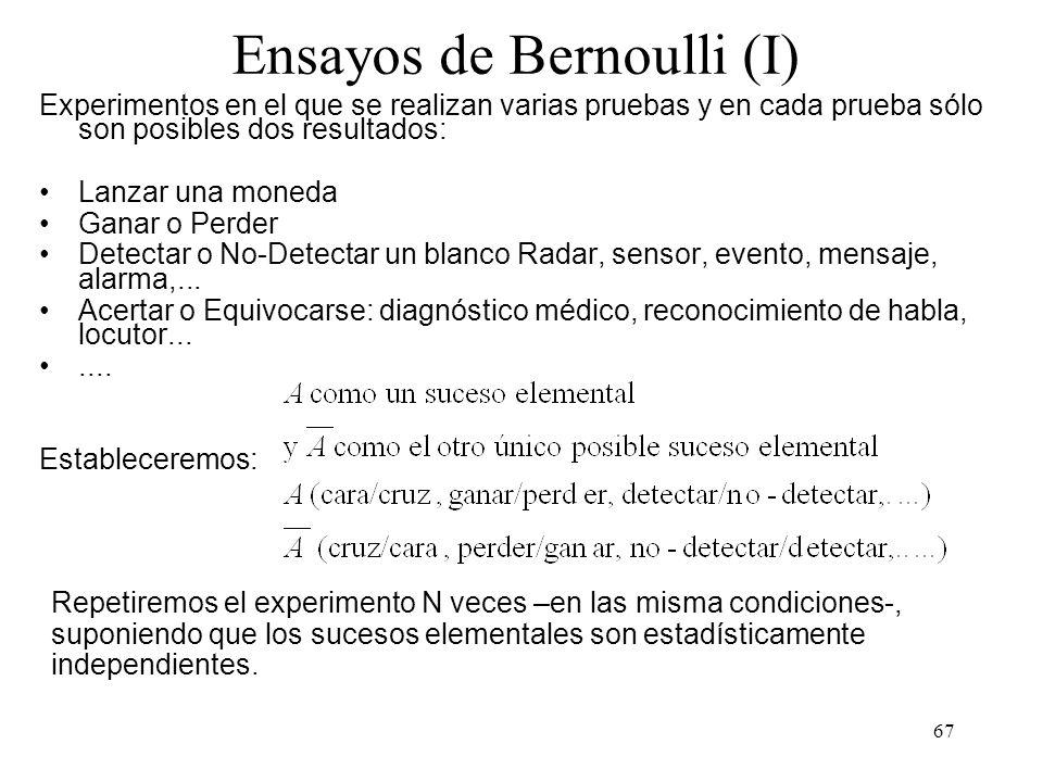 66 Ensayos de Bernoulli