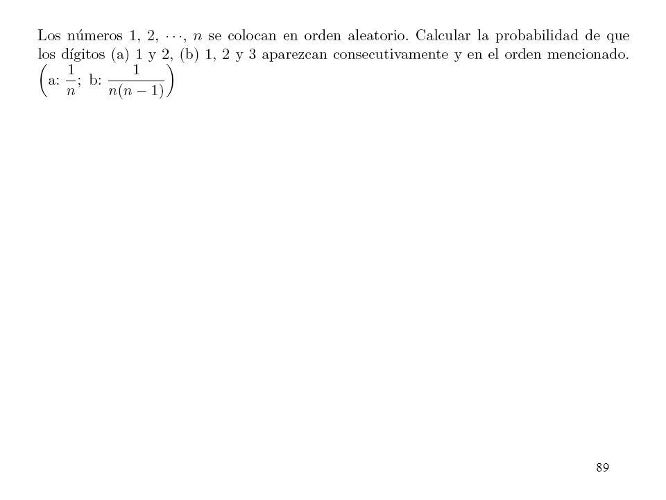 88 Ejemplo 1.3-1 de Peyton & Peebles...paso a la variable aleatoria.... Probabilidad 0 de suceso posible y 1 de uno que puede no darse.....