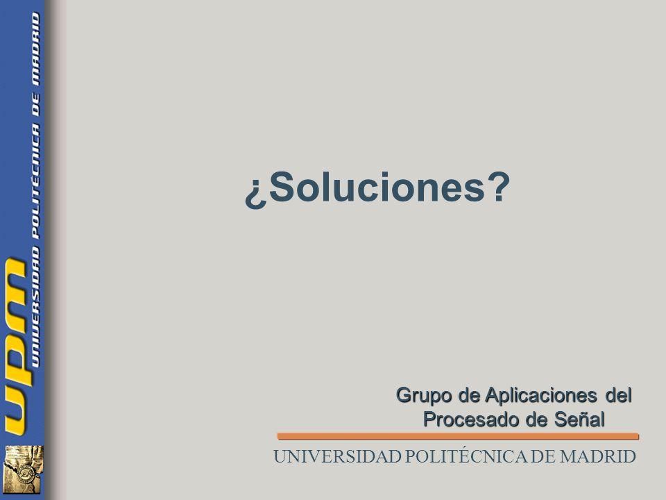 Resumen de ámbitos problemáticos Funcionalidad del Sistema de Diálogo (perfiles de usuario y tareas) Estrategias de diálogo (dependencia con la aplica