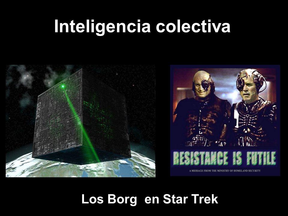 Los Borg en Star Trek Inteligencia colectiva