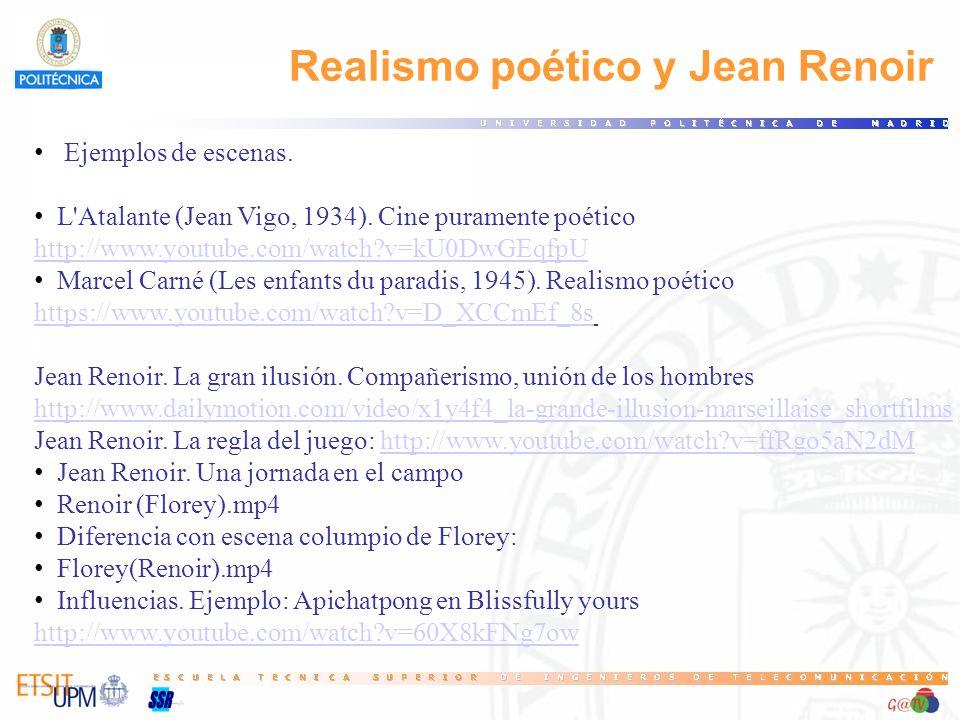 Ejemplos de escenas.L Atalante (Jean Vigo, 1934).