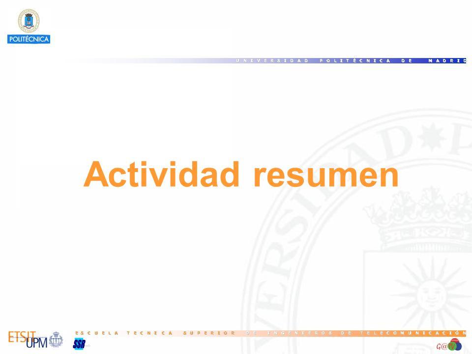 Actividad resumen