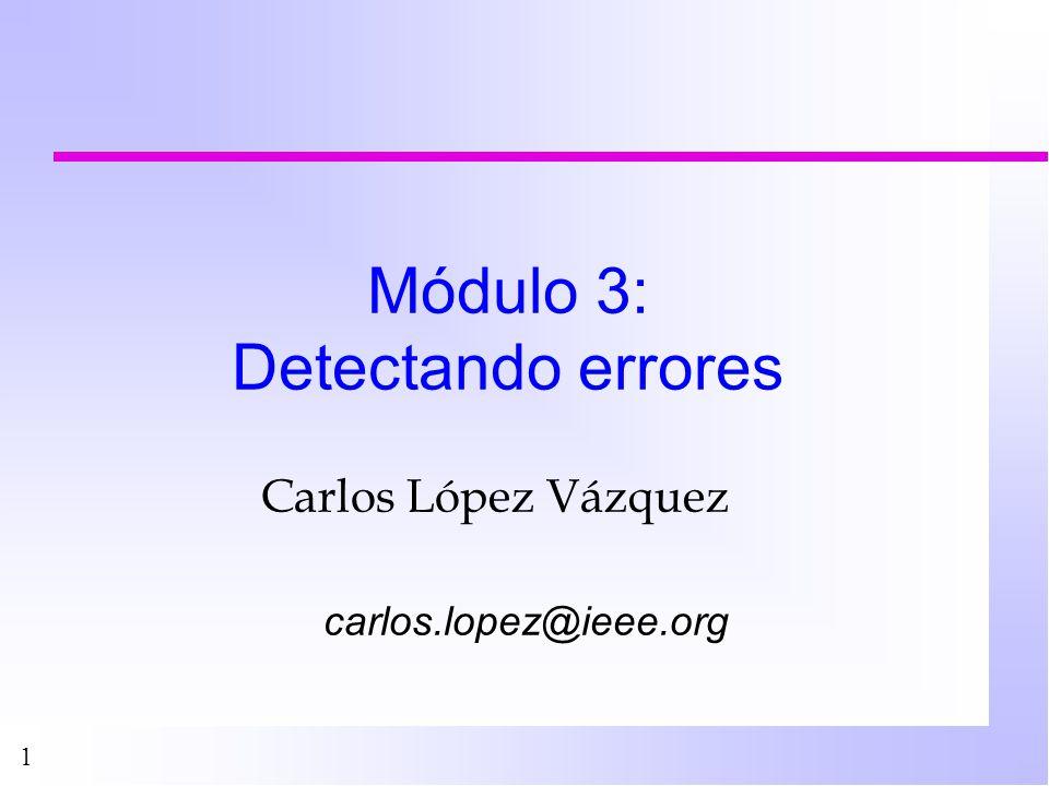 2 Plan n Introducción n Revisión de herramientas estadísticas n Detectando problemas n Ejemplos