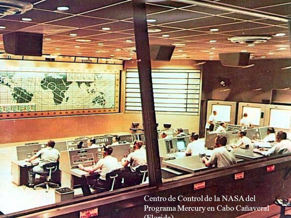 Centro de Control de la NASA del Programa Mercury en Cabo Cañaveral (Florida)