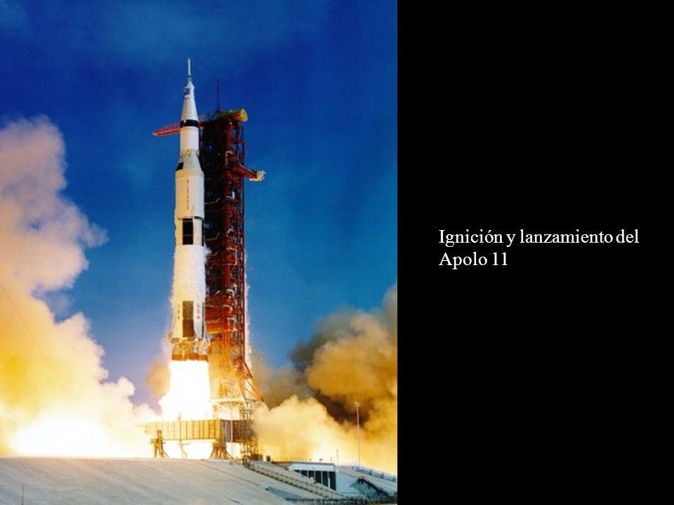 Ignición y lanzamiento del Apolo 11