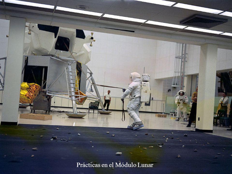 Prácticas en el Módulo Lunar