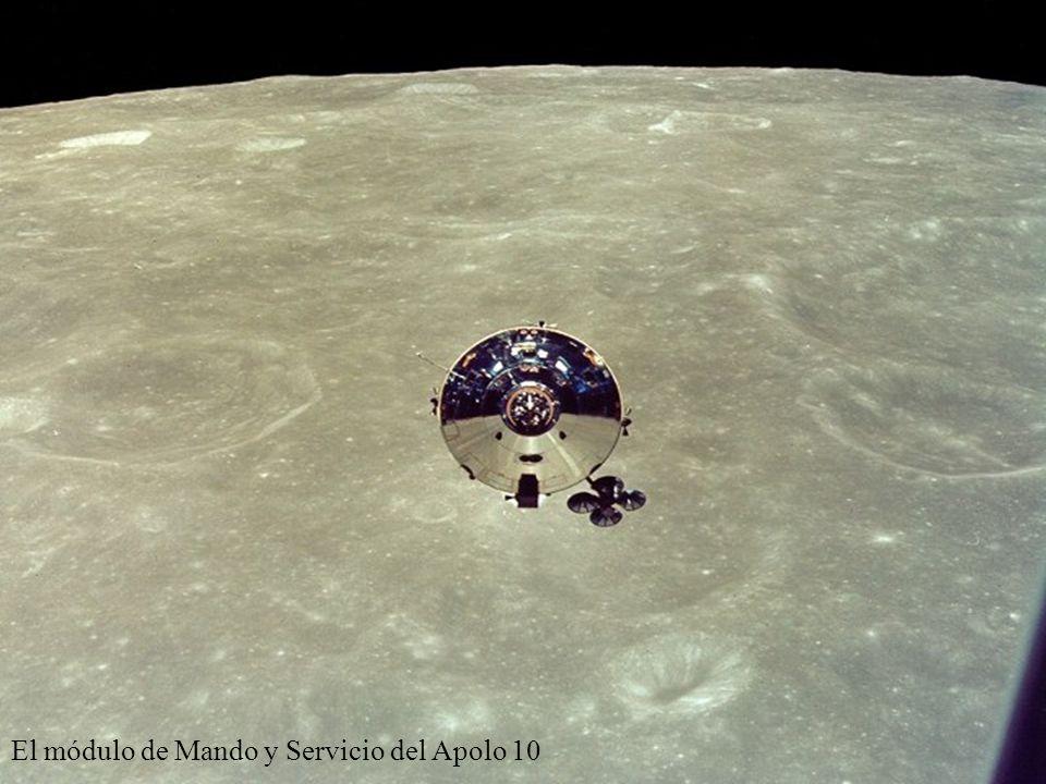 El módulo de Mando y Servicio del Apolo 10