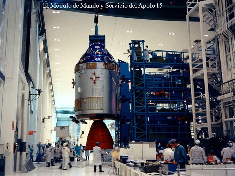 El Módulo de Mando y Servicio del Apolo 15