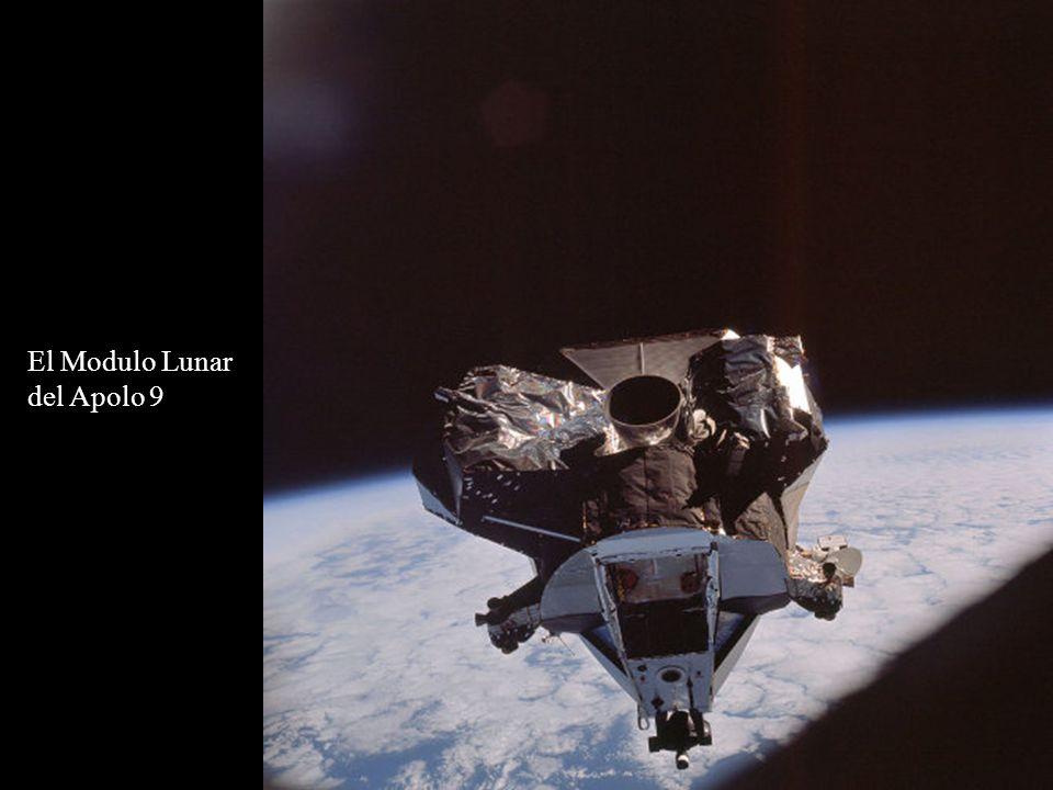El Modulo Lunar del Apolo 9