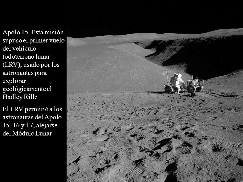 Apolo 15.