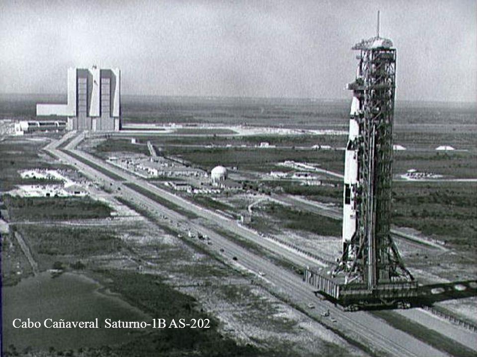 Cabo Cañaveral. Saturno-1B AS-202