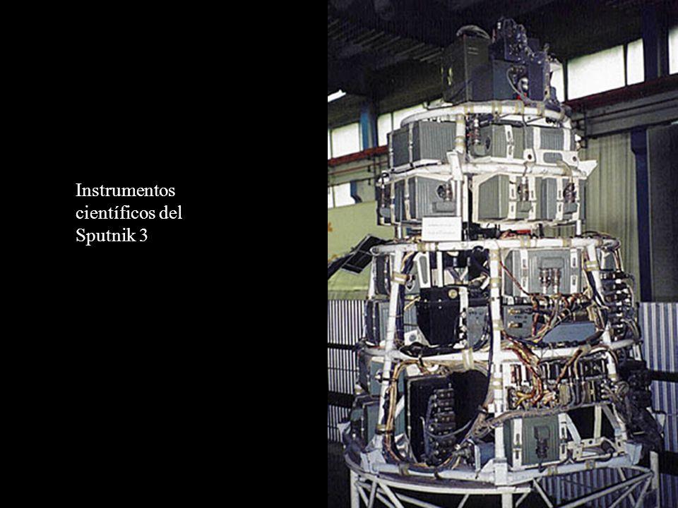 Instrumentos científicos del Sputnik 3