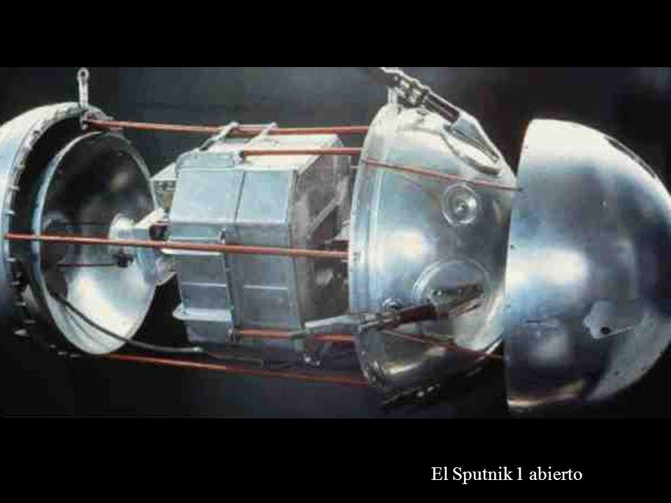 El Sputnik 1 abierto