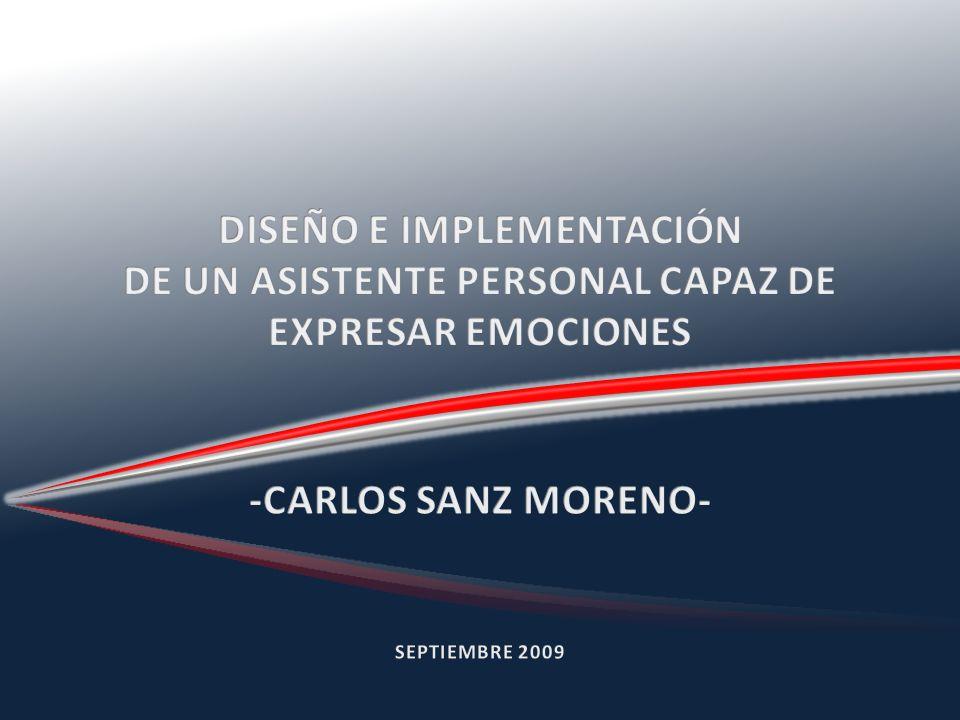 DETECCIÓN DE CARICIAS MEDIANTE SENSOR INFRARROJO INTERFAZ VISUAL NO INTRUSIVA BASADA EN OPENCV SÍNTESIS DE VOZ CON EMOCIONES RECONOCIMIENTO DE HABLA CON COMPRENSIÓN IDENTIFICACIÓN DE LOCUTOR CONTROL DE CARA ROBÓTICA EXPRESIVA