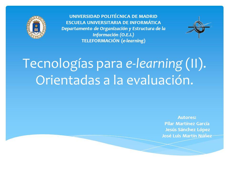 UNIVERSIDAD POLITÉCNICA DE MADRID ESCUELA UNIVERSITARIA DE INFORMÁTICA Departamento de Organización y Estructura de la Información (O.E.I.) TELEFORMAC