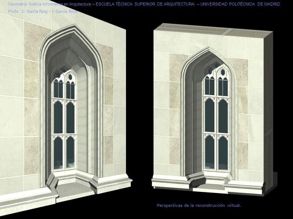 Perspectivas de la reconstrucción virtual.