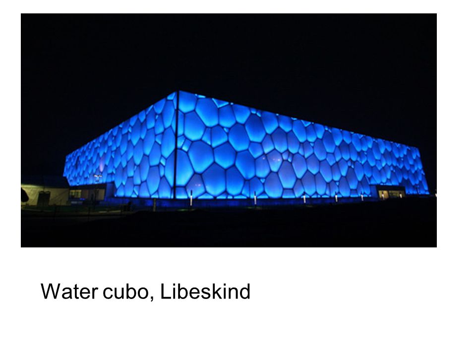 Water cubo, Libeskind