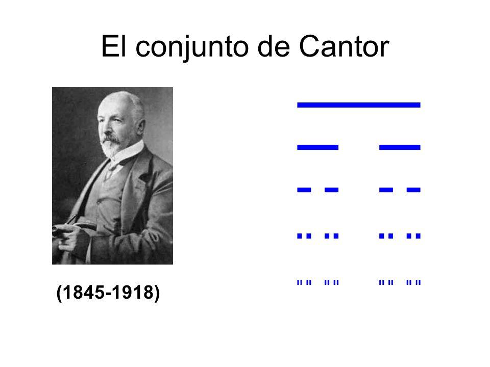 El conjunto de Cantor (1845-1918)