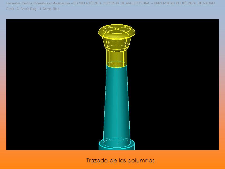 Geometría Gráfica Informática en Arquitectura – ESCUELA TÉCNICA SUPERIOR DE ARQUITECTURA – UNIVERSIDAD POLITÉCNICA DE MADRID Profs.: C.