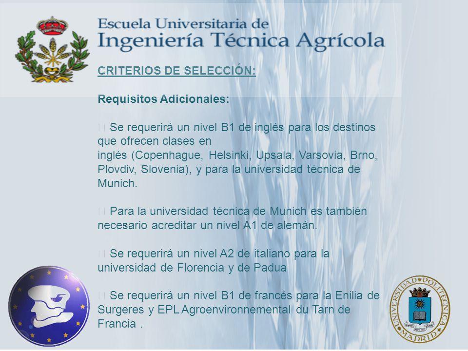 PRUEBAS DE IDIOMA CONVOCATORIA DE TFI Y TOEIC PARA ALUMNOS DE PROGRAMAS DE MOVILIDAD DE LA UPM 15 DE FEBRERO DE 2012 LUGAR DE REALIZACIÓN: E.T.S.I AGRÓNOMOS, EDIFICIO DE AULAS FECHAS DE MATRICULACIÓN: DEL 16 DE ENERO AL 7 DE FEBRERO DE 2012 HORARIOS: TOEIC: 15:00-17:30 H.