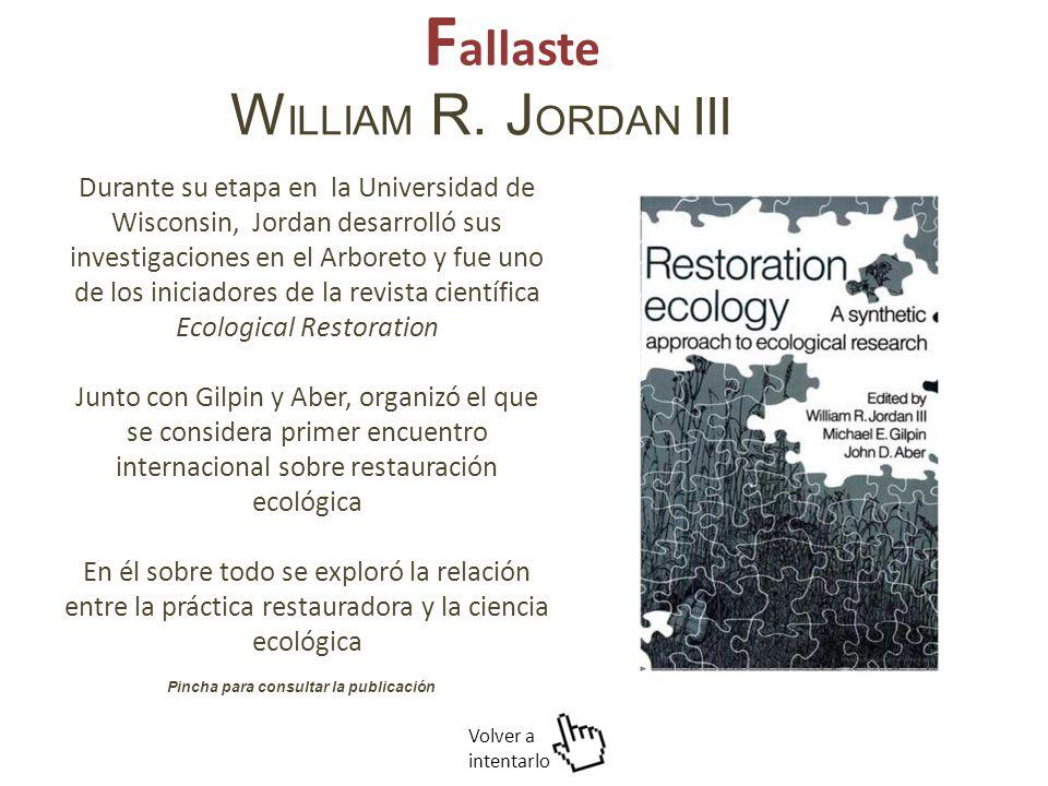 W ILLIAM R.