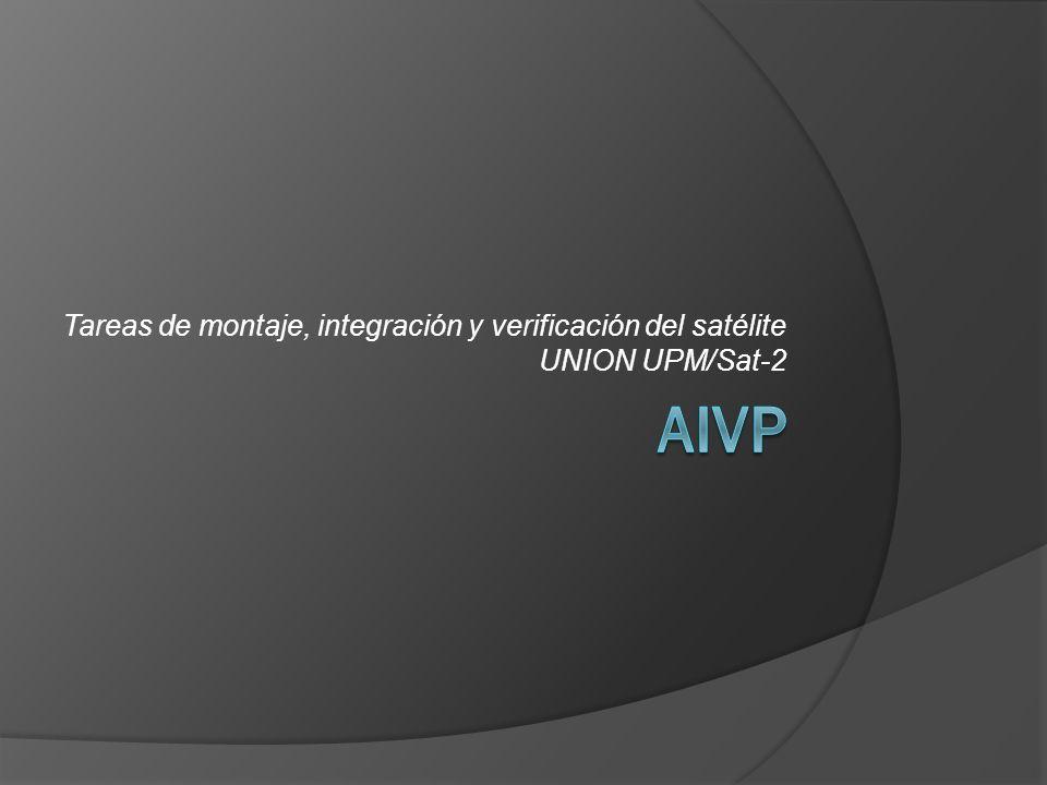 Tareas de montaje, integración y verificación del satélite UNION UPM/Sat-2
