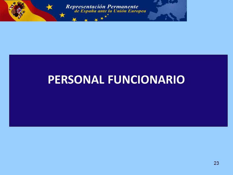 PERSONAL FUNCIONARIO 23