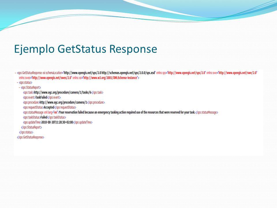 Ejemplo GetStatus Response