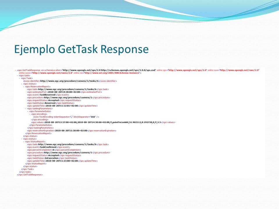 Ejemplo GetTask Response