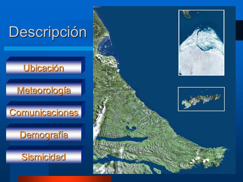 Descripción Ubicación Meteorología Comunicaciones Demografía Sismicidad
