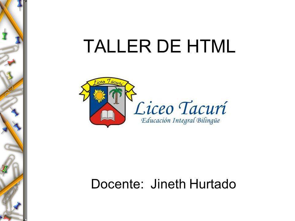 ¿QUE ES HTML.