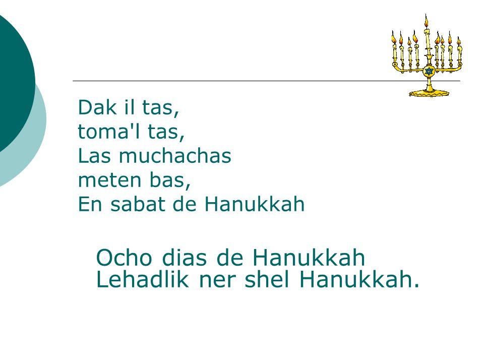 Musica para Shabbat Chanucá.