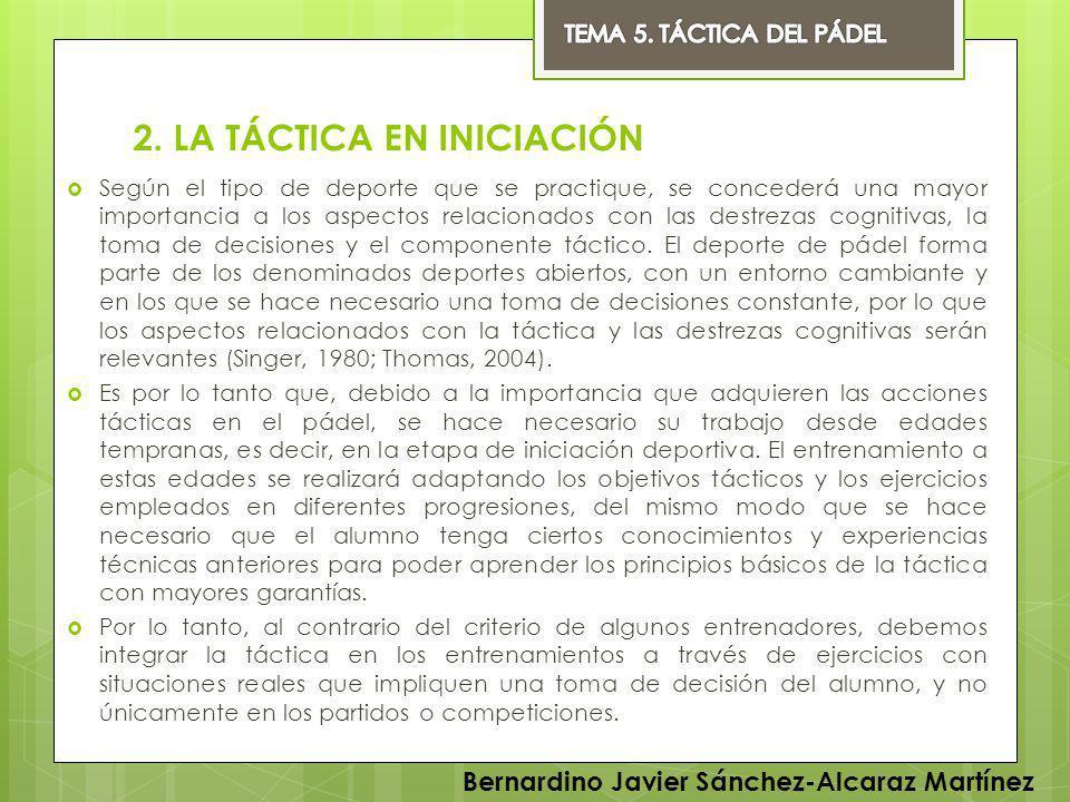 REFERENCIAS BIBLIOGRÁFICAS Barberó, G.(2007). Didáctica de una clase de pádel.