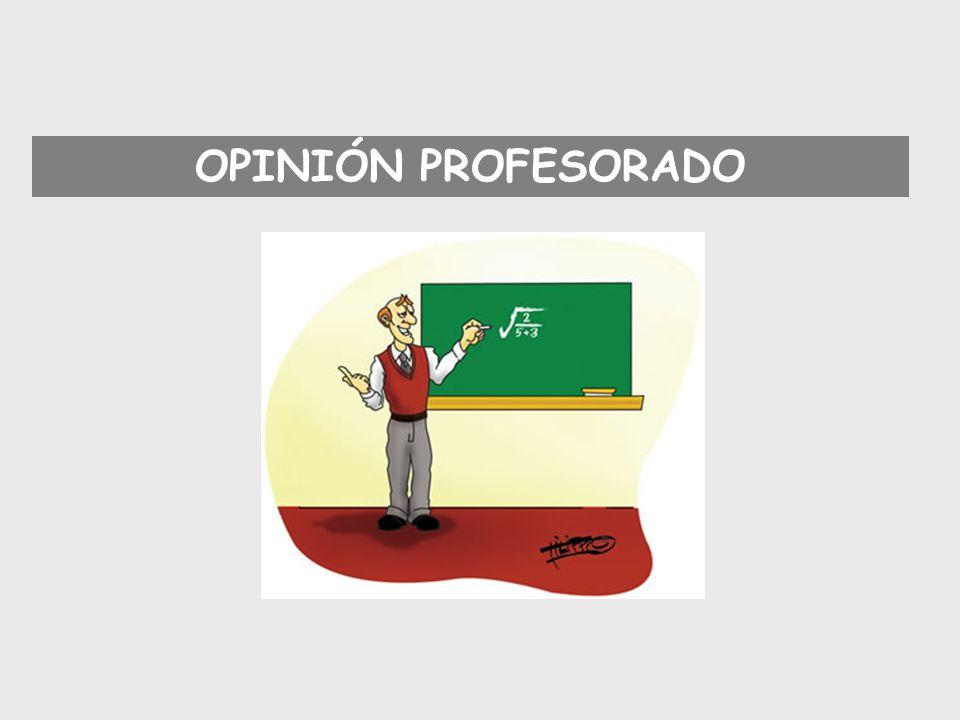 Cambio del profesorado.33,3% Cambiar la metodología de la profesora.