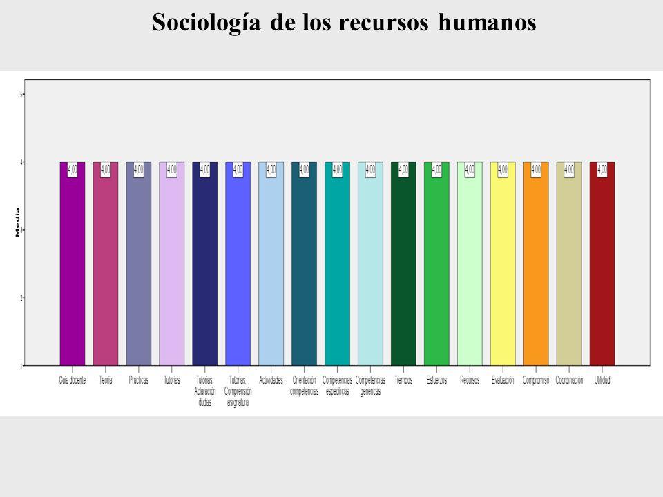 Sociología de los recursos humanos