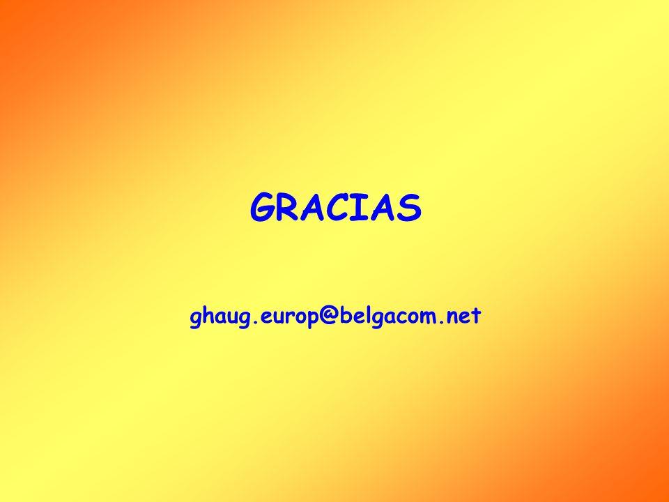 GRACIAS ghaug.europ@belgacom.net