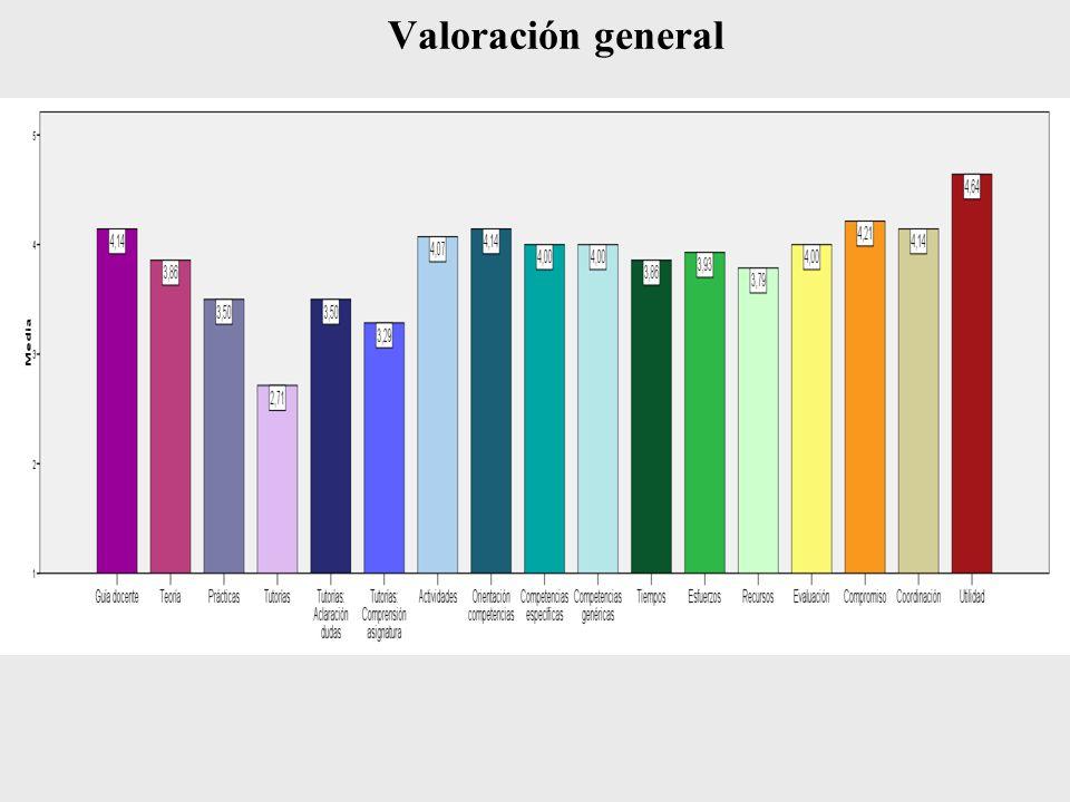 Valoración general
