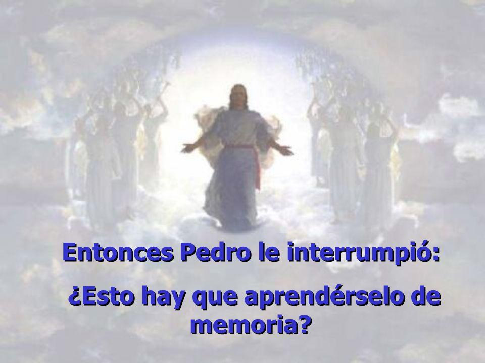 Cosas del Maestro… En aquel tiempo, Jesús subió a la montaña y, sentándose en una gran piedra, dejó que sus discípulos y seguidores se acercaran.