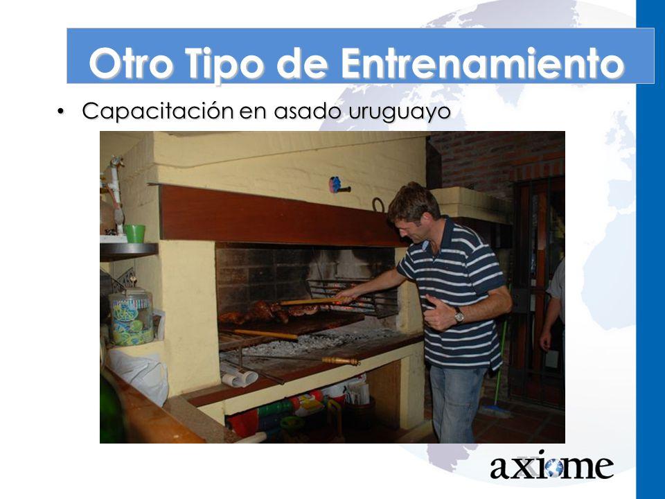 Capacitación en asado uruguayo Capacitación en asado uruguayo Otro Tipo de Entrenamiento