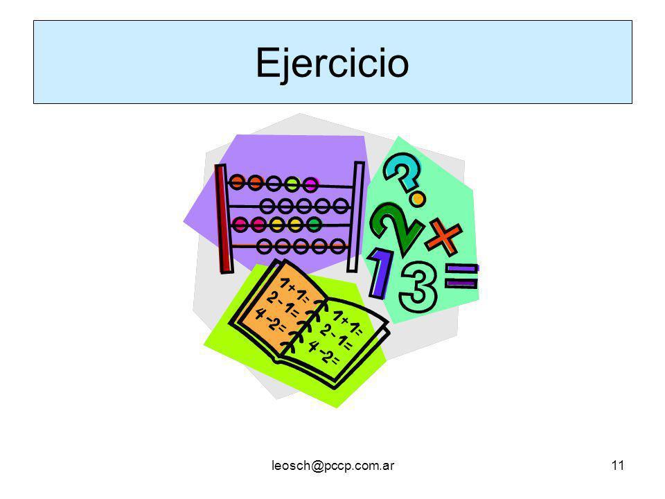 leosch@pccp.com.ar11 Ejercicio