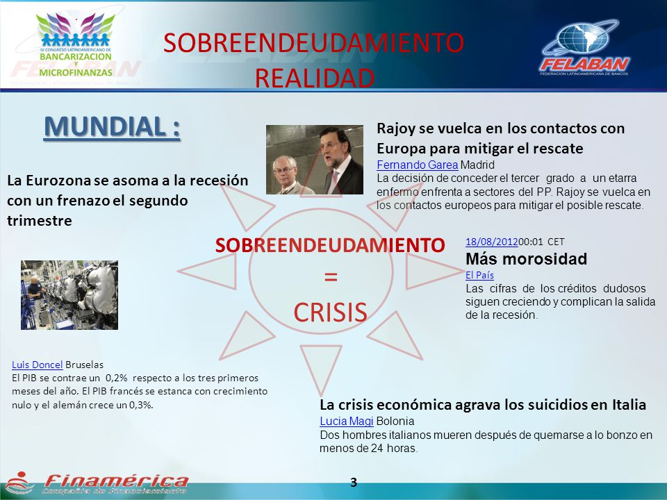 SOBREENDEUDAMIENTO = CRISIS 3 MUNDIAL : Rajoy se vuelca en los contactos con Europa para mitigar el rescate Fernando GareaFernando Garea Madrid La dec
