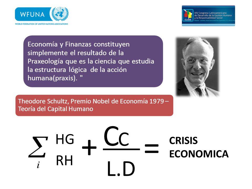 Economía y Finanzas constituyen simplemente el resultado de la Praxeología que es la ciencia que estudia la estructura lógica de la acción humana(prax