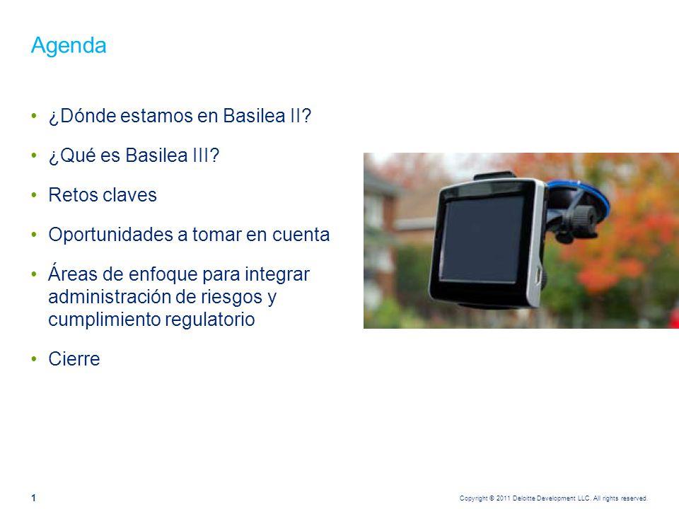 ¿Dónde estamos en Basilea II?