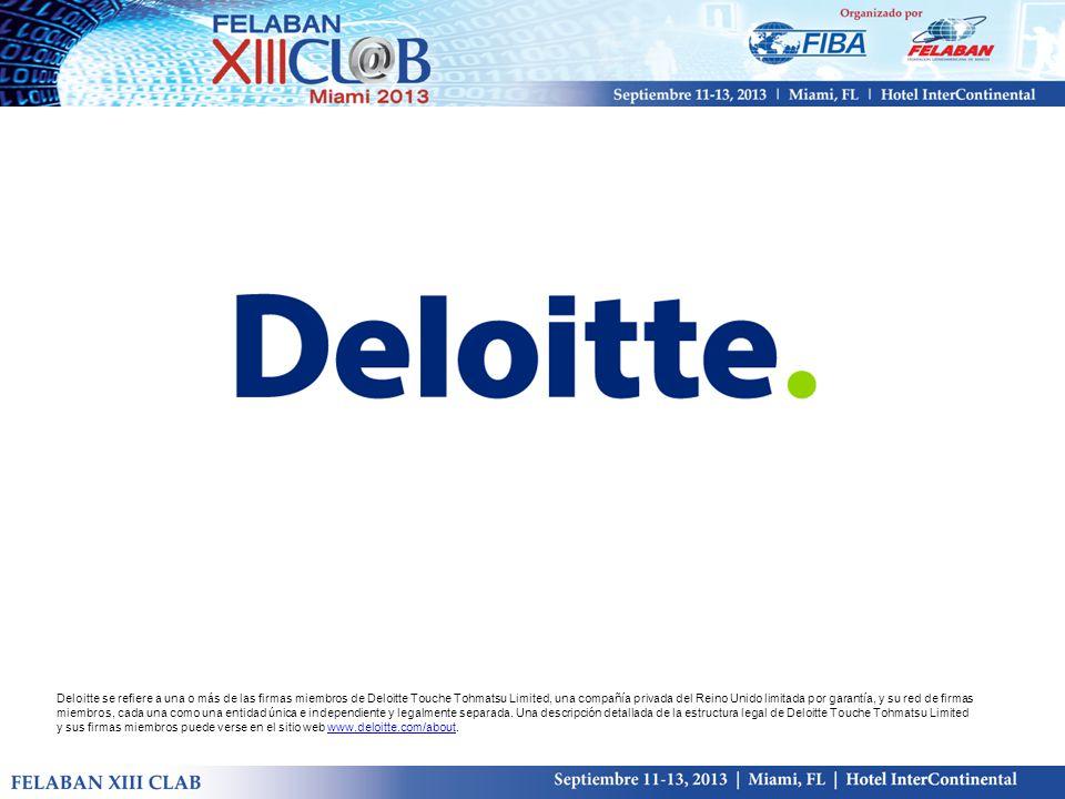 Deloitte se refiere a una o más de las firmas miembros de Deloitte Touche Tohmatsu Limited, una compañía privada del Reino Unido limitada por garantía, y su red de firmas miembros, cada una como una entidad única e independiente y legalmente separada.