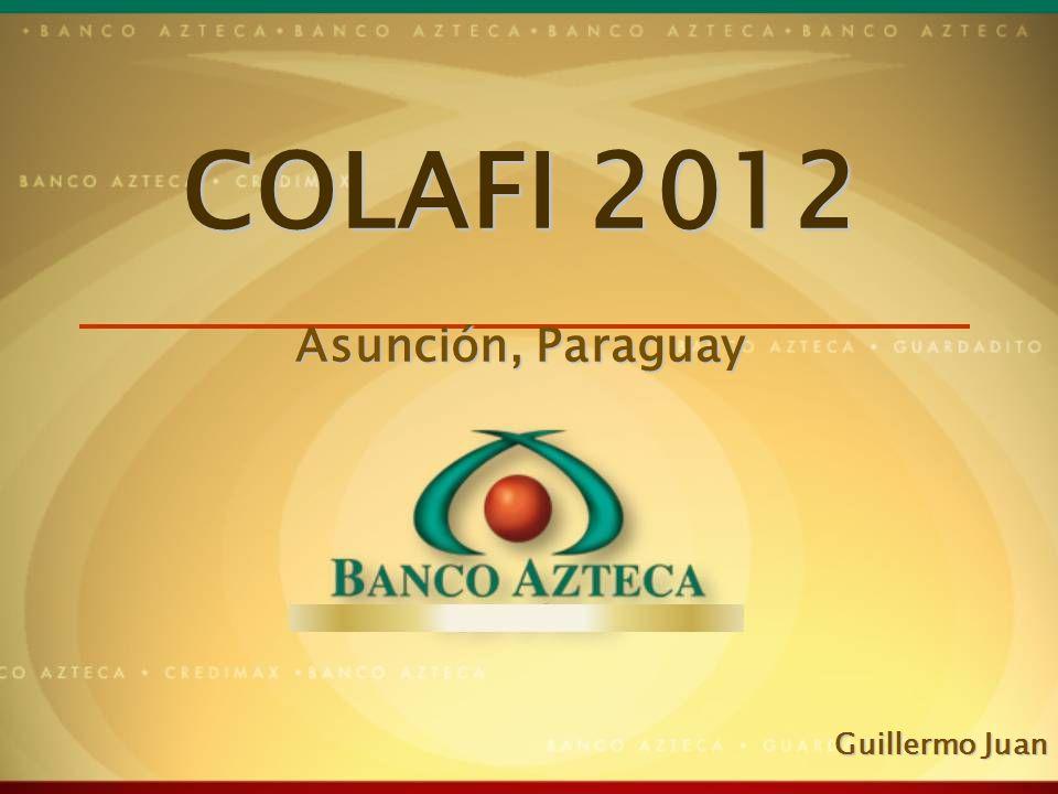 1 COLAFI 2012 Asunción, Paraguay Guillermo Juan