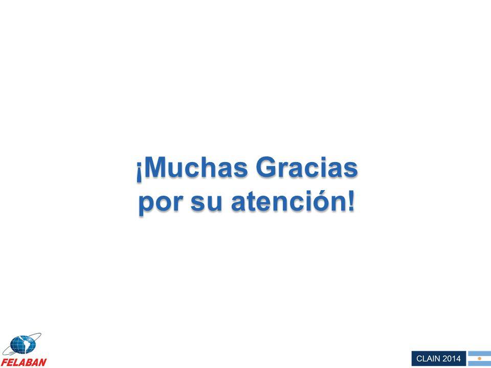 ¡Muchas Gracias por su atención! ¡Muchas Gracias por su atención!