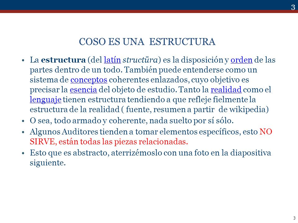 4 COSO ES UNA ESTRUCTURA( Framework ) TODO UNIDO E INTEGRADO 4