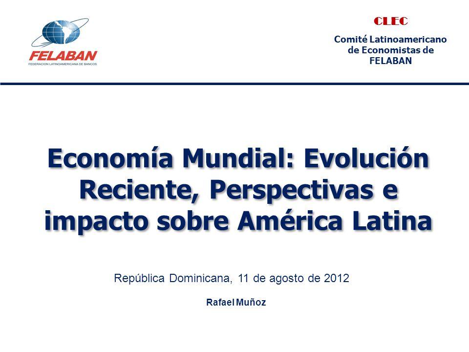 Anexo: estadísticas y proyecciones económicas para la región Fuente: Latin Consensus Forecasts, julio 2012 Argentina 201020112012 (p)2013 (p) Producto Interno Bruto (% Var.